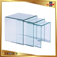 Good quality useful new arrival toughened glass door inserts