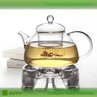 Chinese borosilicate glass tea pot