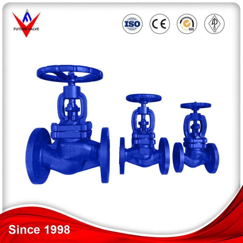 Certified To ISO-9001 Customized High Quality Astm DIN A126b Bonnet Bellows Globe Valve