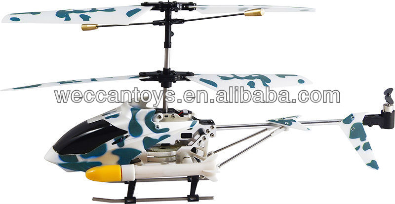 SG-H5315 Great fun 3.5CH missile launcher helicopter with gyro