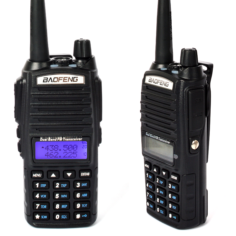 UV-82 Dual Band 2800mAh Baofeng Two Way Radio with double PTT and Scanner