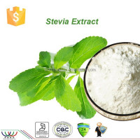 stevia extract HACCP KOSHER FDA natural sweetener stevioside STV 98% RA powder