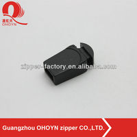 new black color rope buckle No.215D0420 rope buckle plastic accessory of rope