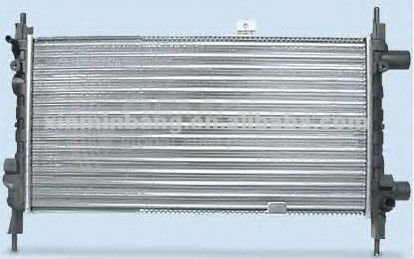 high quality ALUMINUM AUTO RADIATOR FOR OPEL OPEL KADETT E /1.2S /1984-/ OEM1302049 MT/ 2001