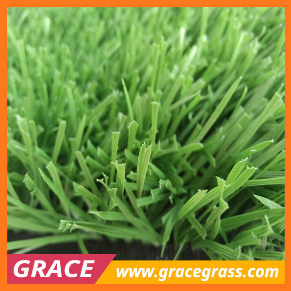 mixed color non maintenance 55mm artificial grass for football