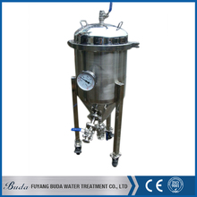 Economical and popular mobile wheel type beer fermentation tank