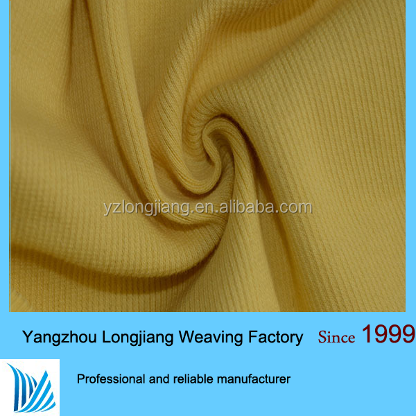 95% cotton 5% spandex 1x1100 cotton knit fabric