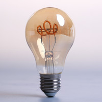 China supply clear Vintage style decorative lighting led bulb A60 ST64 G80 G95 G125 2w 4w 5w