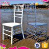Great price Sinofur white resin chair /chiavari wedding chair