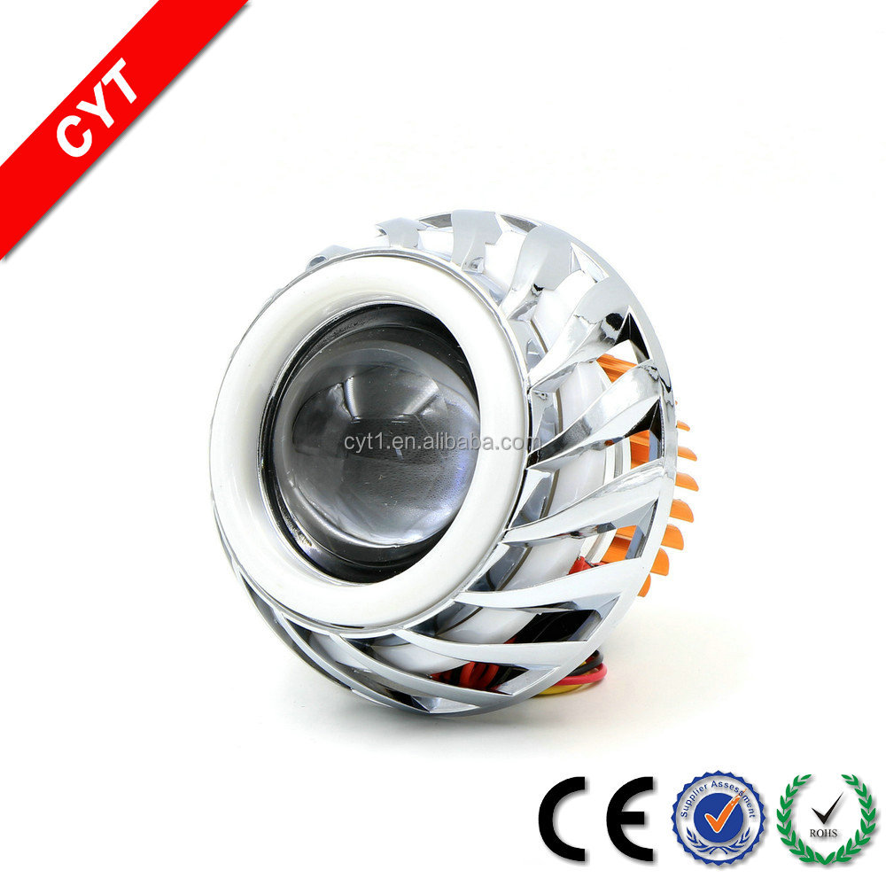 New colorful Motorcycle LED headlight light V03