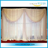 wedding drapes aluminium pipe clamp