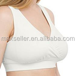 Soft French Terry Nursing Sleep Bra for Maternity / Breastfeeding