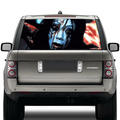 waterproof high beam ghost decal decorative vinyl car rear windshield window stickers with uv resistance