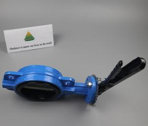 DOWSON 2 Inch Cast Iron Butterfly Valve For food