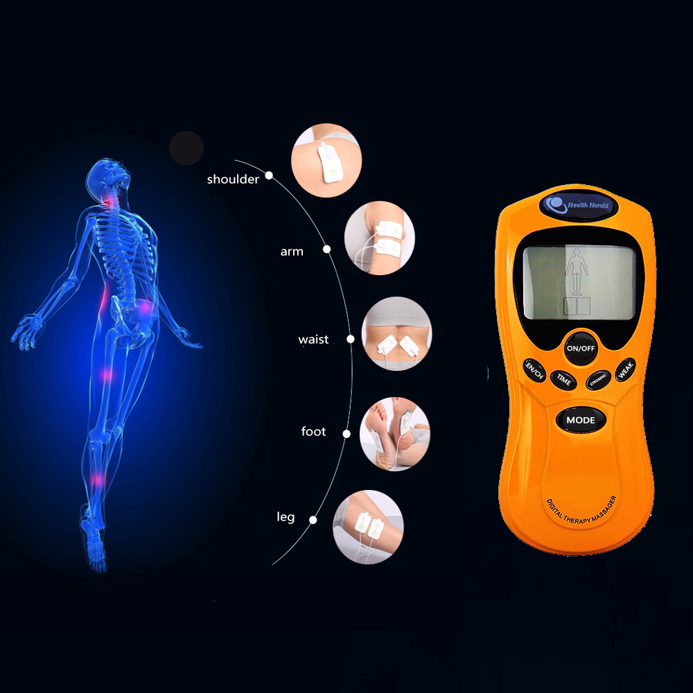 digital therapy acupoint massage handle electronic smart acupressure massager machine