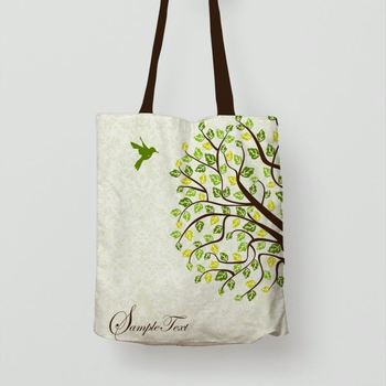 Manufactorer Customized Reusable Fashion Conference Cotton Tote Bag
