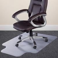 2017 Polycarbonate PVC Office Floor Chair Mats For Carpet