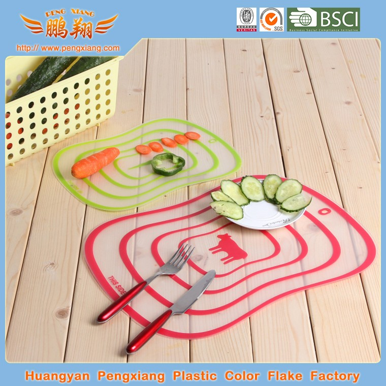 Professional Factory Supply Plastic Thin Vegetable Cutting Board Flexible Plastic Flexible Board
