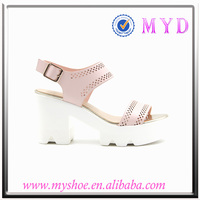 latest high heel sandals womens wedge sandals handmade leather shoes