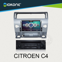 2014 hot 2DIN HD citroen c4 dvd player gps with car multimedia for Importer and Wholesaler