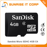 Wholesale cheap class10 sandisk 4gb sd memory card