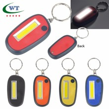 promotional COB LED Light Mini Flashlight Keychain