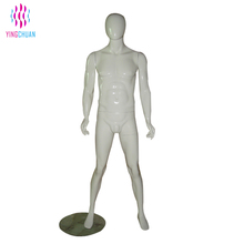 White color egg head used male mannequins sale
