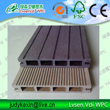 outdoor wood-plastic composite decking flooring for pool Decking