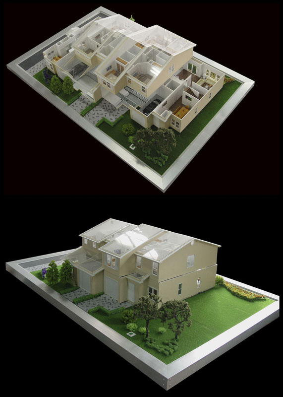 3D home /house Architectural Model Making,Residential Model Maker