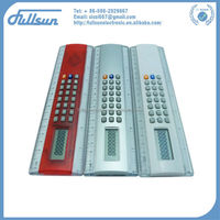 FS-858S 8digits solar-powered students cheap solar ruler calculators
