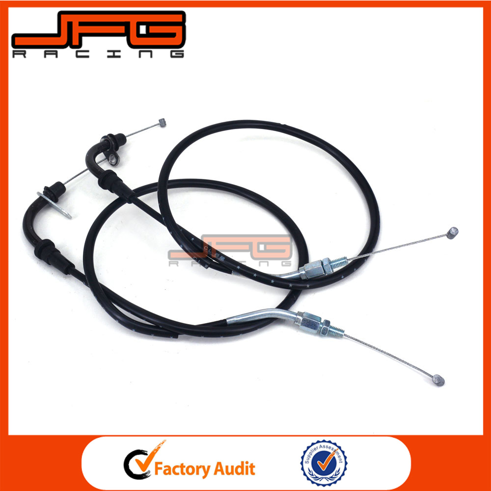 Motorcycle Throttle Cable Accelerator Control Wire Carburetor Line For Suzuki <strong>K11</strong> gsxr650 gsxr750 11-15