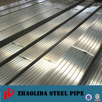 china erw welded pipe ! galvanized black rectangular steel tube cutting galvanized steel pipe lower price