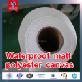 2017 hot sale! facrtory price!!Eco solvent matte polyester canvas24inch-60inchx30m