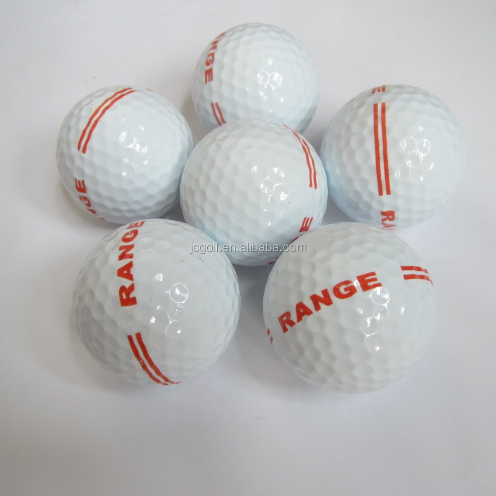 Bulk high quality 2 piece driving range golf balls