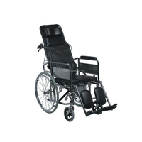 Handicap safe design plastic commode steel shower commode wheel chair
