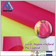 NO1116325 200d nylon oxford 100% nylon fabric for backpack