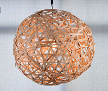 Rattan lampshades for Pendants