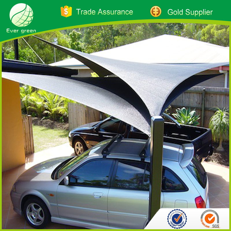 Aluminum Shade Screen, Commercial Car Park Shades & Shelters,Changzhou Evergreen Nets Supplied UV Protection Garden Shade Sails