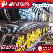 black and galvanized erw/hfw/hfi welded steel pipe according with api 5l x60 factory