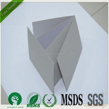 2mm grey paperboard for files / grey paper board /grey cardboard