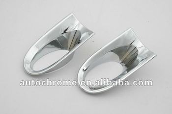 Chrome Front Fog Light Trim For Honda CRV CR-V 2010 Up