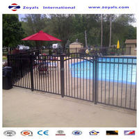 2015 good quality cheap sheet metal fence panels