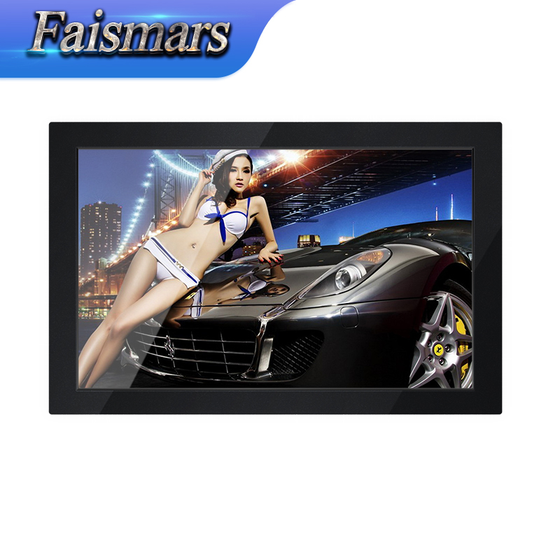"14-inch LED LCD Monitor Widescreen Touch Screen Monitor Display 14"" CCTV Security Rack Mount Monitor With VGA HD USB Port"