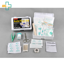 Auto Vehicel Lightweight Compact First Aid Kit Case