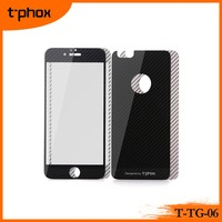 t-phox t-tg-06 2.5D round edge carbon fibre superhard h9 tempered glass film screen protector wholesale