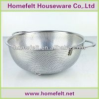 2014 hot selling stainless steel rice colander