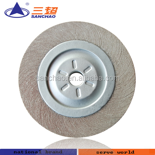 buffing sanding flap wheel for stainless steel used