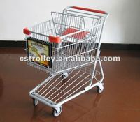Cart Advertisement Frames on Front Baskets