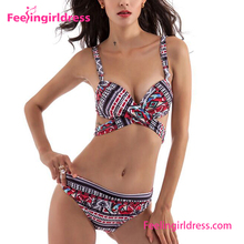 Fashion Women Two Piece Sexy Bikini Transparent Bikini Model