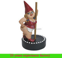 resin custom funny handmade unique sexy garden gnomes for sale